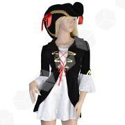 Ladies Pirate Captain Costume