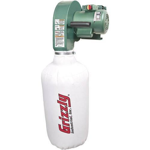 G0710 Grizzly 1 HP Wall Hanging Dust Collector