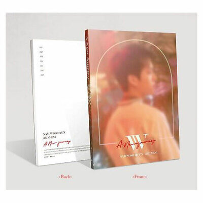 A NEW JOURNEY by NAM WOO HYUN The 3rd Mini Album [Normal Ver.] INFINITE