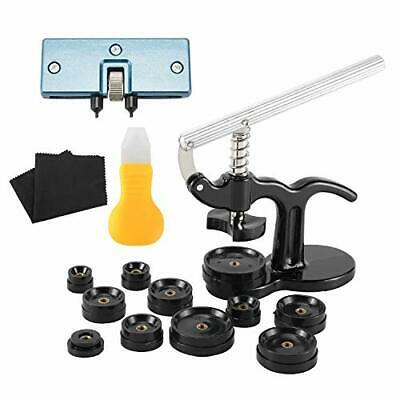 16Pcs Watch Press Tools Watch Repair Kit with Watch Battery Replacement Tool