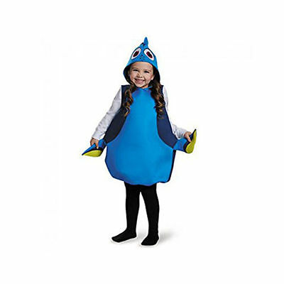 Classic Finding Dory Fish Child Costume NEW One Size Fits Up To A Size 6
