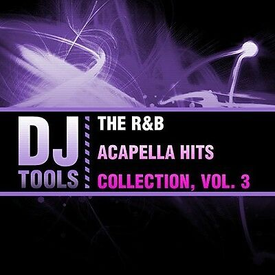 Dj Tools   R B Acapella Hits Collection 3  New Cd  Manufactured On Demand
