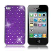 Purple Diamond iPhone 4 Case