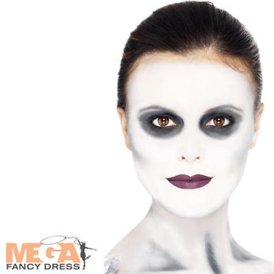 Ghost Ship Make Up Adults Halloween Fancy Dress Pirate Costume Face Paint Kit](Halloween Ghost Pirate Makeup)