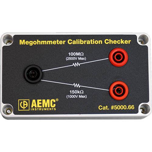 AEMC 5000.66 Megohmmeter Calibration Checker - 150k?/100M
