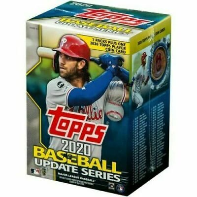 2020 Topps Update Blaster Box New - Sealed - 7 Packs/14 Cards 1 Coin Arozarena
