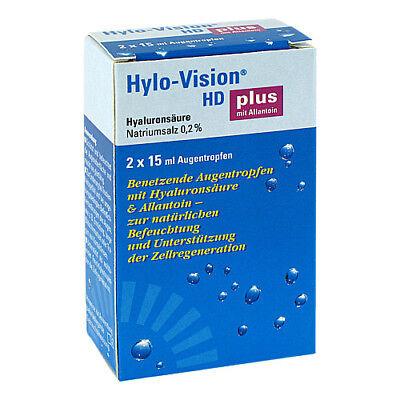 HYLO VISION HD Plus Augentr. 2X15 ml PZN 00660475
