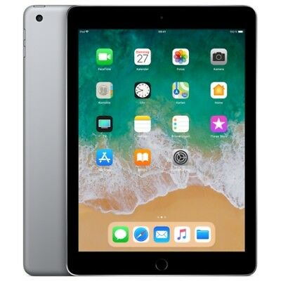 Apple IPad 9.7 2018 WiFi/WLAN 128GB space-grey MR7J2FD/A iOS Tablet PC