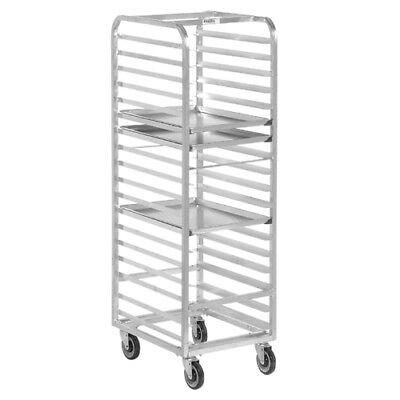 Front Load Bun Pan Rack (Channel Bun Pan Rack, Aluminum, Front Loading, 70-1/4