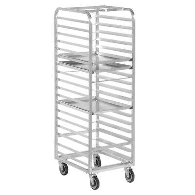 Channel Bun Pan Rack Aluminum Front Loading 70-14 High For 15 Pans
