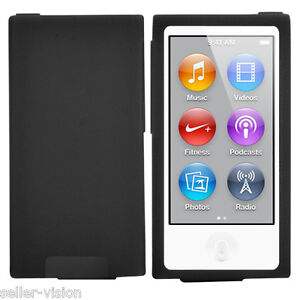 New Soft Silicone Case Cover Shell for Apple iPod Nano 7 Protective Skin 7th Gen