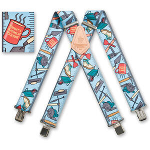 Tommy Walsh Mens Heavy Duty Suspenders 2