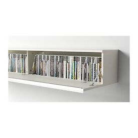 Ikea Besta Unit - DVD/CD storage wall mountable