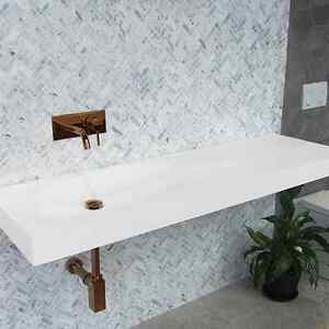 Designer solid surface wall mounted sinks - IN STOCK - GOLD COAST Burleigh Heads Gold Coast South Preview