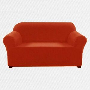 30 41 Orange Elastic Slipcover Chair Loveseat Sofa Funiture Cover Psf1y Ebay