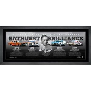 ALLAN MOFFAT  BATHURST BRILLIANCE  SIGNED LIMITED EDITION LITHOGRAPH