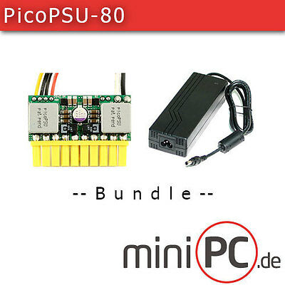 picoPSU-80 DC/DC (80 Watt) + AC/DC 84W Adapter