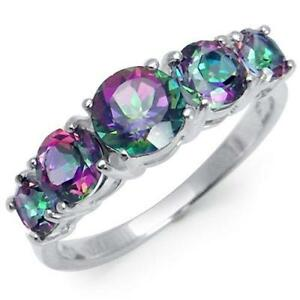 jewelry fire silverbestbuy a mystic ring topaz rings cut emerald