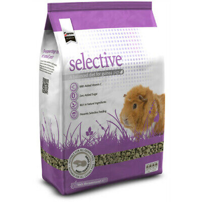 Supreme Science Selective Naturals Guinea Pig  350g Vets Recommend it (Selective Guinea Pig)