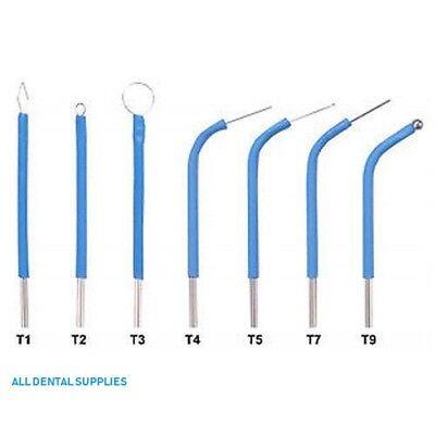 New Bonart Electrode Set For The Art-e1 Electrosurgery 7 Tips - Dental