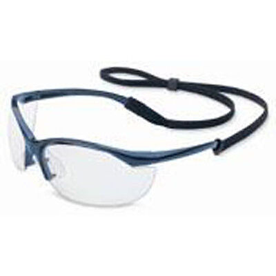 Uvex RWS51004 - Vapor Blue Safety Glasses W/Clear Lens