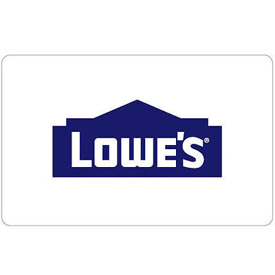 Get a $100 Lowe's Gift Card for only $90 - Super Fast Email delivery