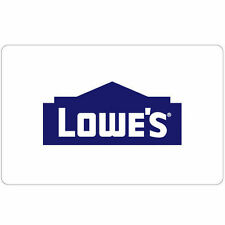 Get a $100 Lowe's Gift Card for only $90 - Fast Email delivery