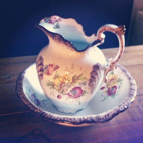 Wash Jug And Bowl Pottery Porcelain Amp Glass Ebay