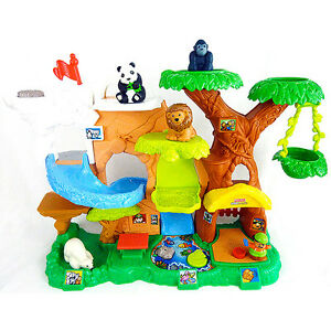 Zoo aux sons amusants Zoo Talkers Little People Fisher-Price