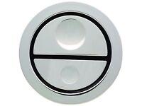 New Geberit 241.413.21.1 Pneumatic Dual Flush Chrome Toilet Push Button For AP109 C