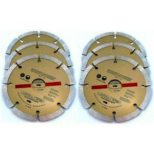 6-x-115MM-4-DIAMOND-ANGLE-GRINDER-BLADES-DISCS-81E