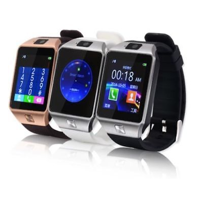 Bluetooth Smart Watch Phone Mate GSM SIM DZ09 For iPhone Android Samsung Sony LG