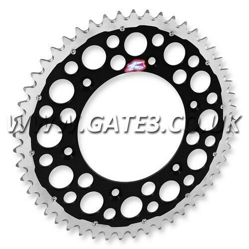 KAWASAKI KXF250 KXF 250 2004-2013 RENTHAL TWIN RING 51-TOOTH BLACK REAR SPROCKET