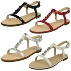 Leather Flat Sandals Sandals for Women