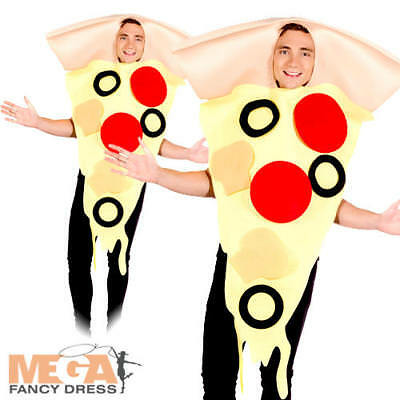 Novelty Pizza Slice Fancy Dress Italy Stag Hen Night Funny Adults Food Costume