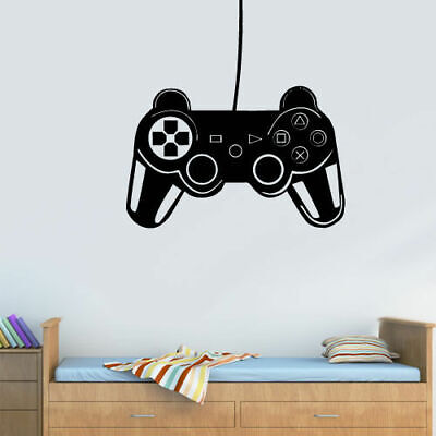 Wall Decal Vinyl Sticker Gaming Time Xbox 360 Ps3 Game Ps2 Controller (Z3120), used for sale  Shipping to India