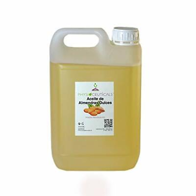 Aceite de Almendras Dulces 100% Puro. PRIMERA PRESIÓN EN FRIO 5000 ml.