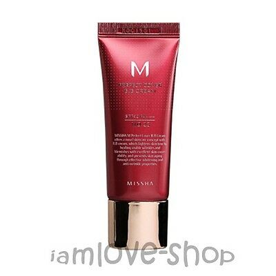 [Missha] M Perfect Cover BB Cream 20ml No.23 Natural Beige SPF42 PA+++ 3 Free