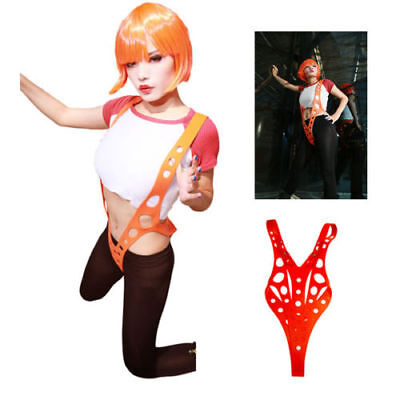 XCOSER Leeloo Suspender the 5th Fifth Element Sexy Props Cosplay Costumes Adult - 5th Element Leeloo