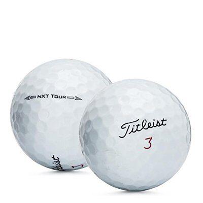 2 Dozen Titleist NXT Tour Mint / AAAAA Factory Renewed Golf Balls No Logos