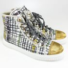 Fashion Sneakers High Top Women's 10 Women's US Shoe Size
