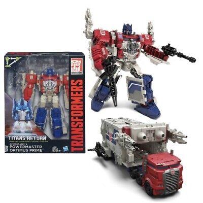 Transformers Titans Return Leader Powermaster Optimus Prime New