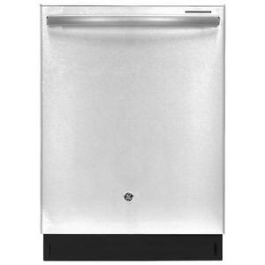 Lave-vaisselle GE 24 po,encastré, 45 dBA, Stainless, Cuve en Acier Inox, grande capacité, à vapeur (SKU : 1015)