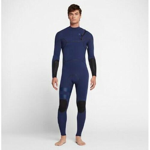 New $360 Mens Hurley Advantage Max Wetsuit 2/2mm Loyal Blue