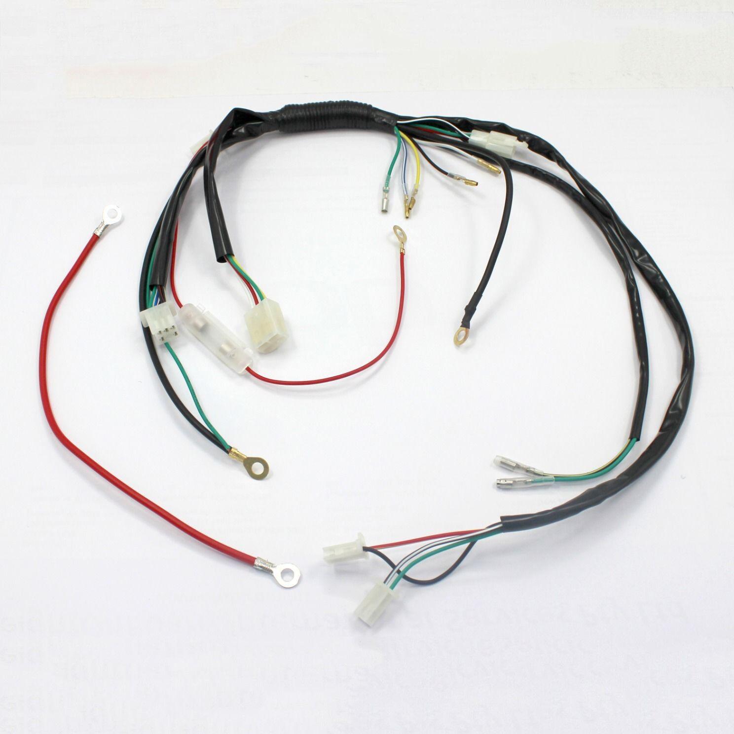Wire Wiring Harness Loom 90cc 110cc 125cc 140cc 150cc Pit