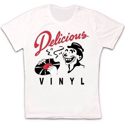 Delicious Vinly Music Record Label Rap Hip Hop Retro Vintage Unisex T Shirt 1137 - Vintage Hip Hop