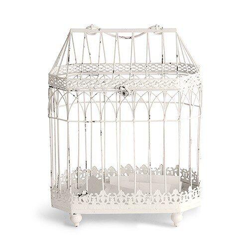 Weddingstar White Decorative Conservatory Birdcage Card Box Wishing Well Wedding Or Shower