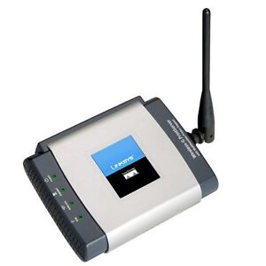 Cisco Linksys Wireless-G Print Server with Multifunction Printer
