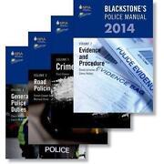 Blackstones Police Manuals