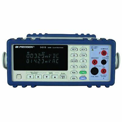 Bk Precision 5491b True Rms Bench Digital Multimeter 50000 Count With A Nist-t